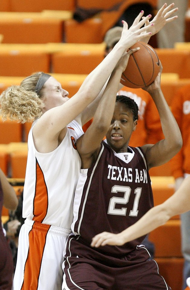 Andrea Riley benched in Cowgirls' loss | News OK