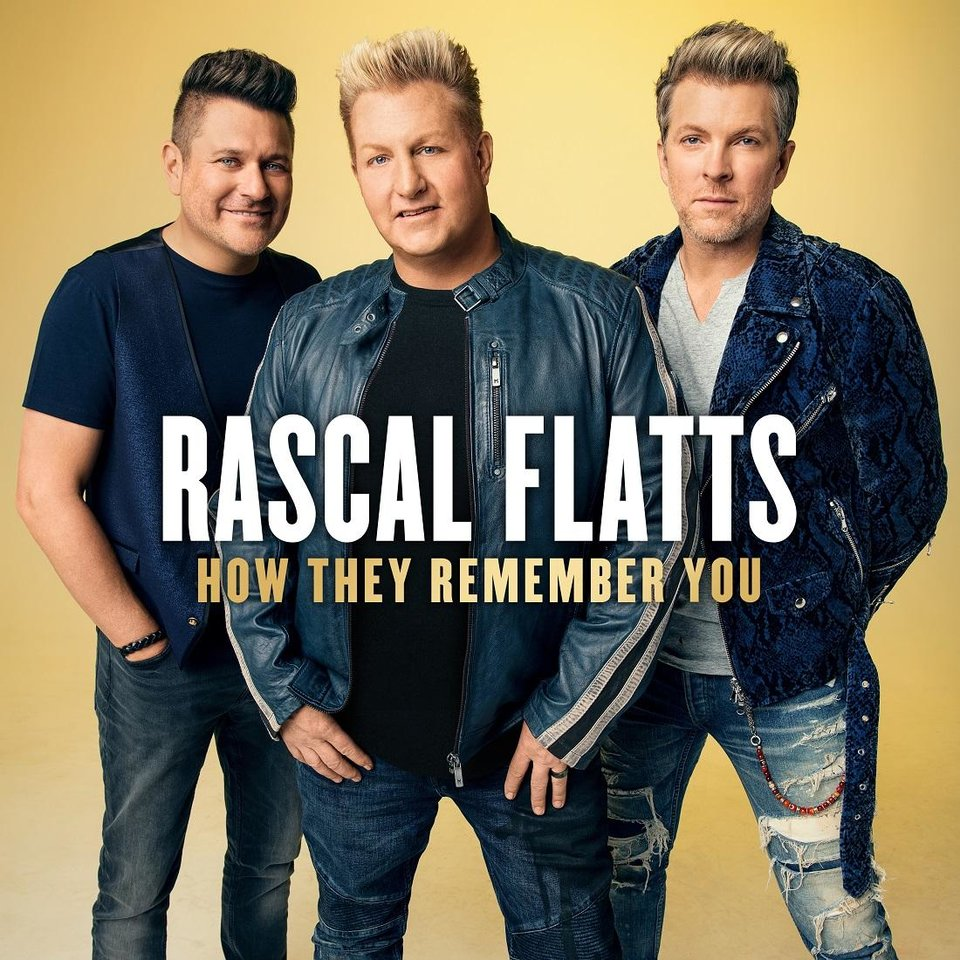 Photo - Superstar vocal group Rascal Flatts - lead singer Gary LeVox, bassist Jay DeMarcus and guitarist Joe Don Rooney, who hails from Picher - released Friday their sentimental EP
