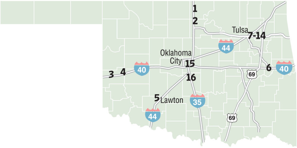 Holiday Travel In Oklahoma Article Photos