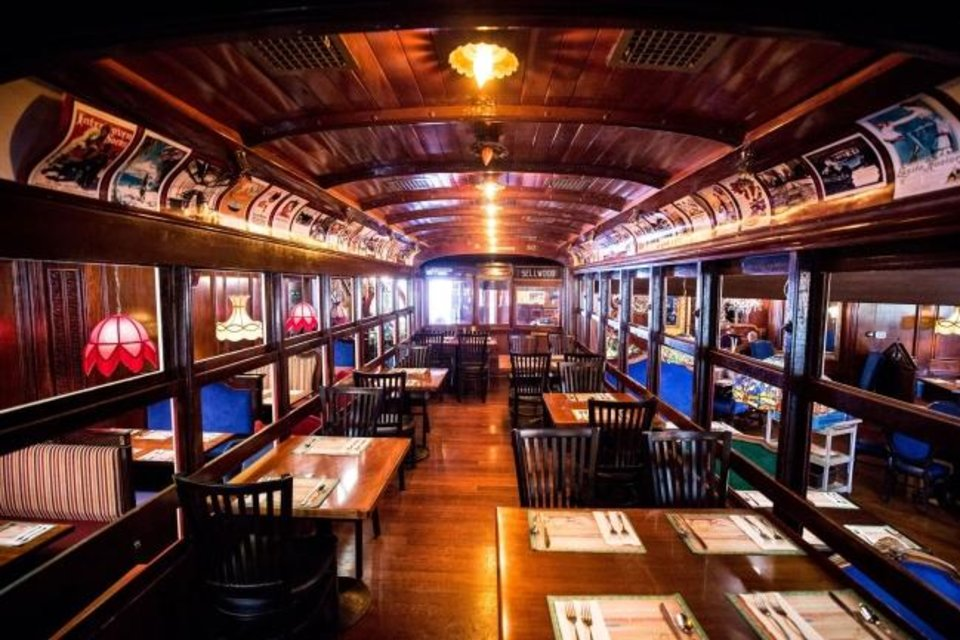 Photo -  The Bricktown Old Spaghetti Factory will include dining inside an old fashioned trolley car. [PROVIDED]