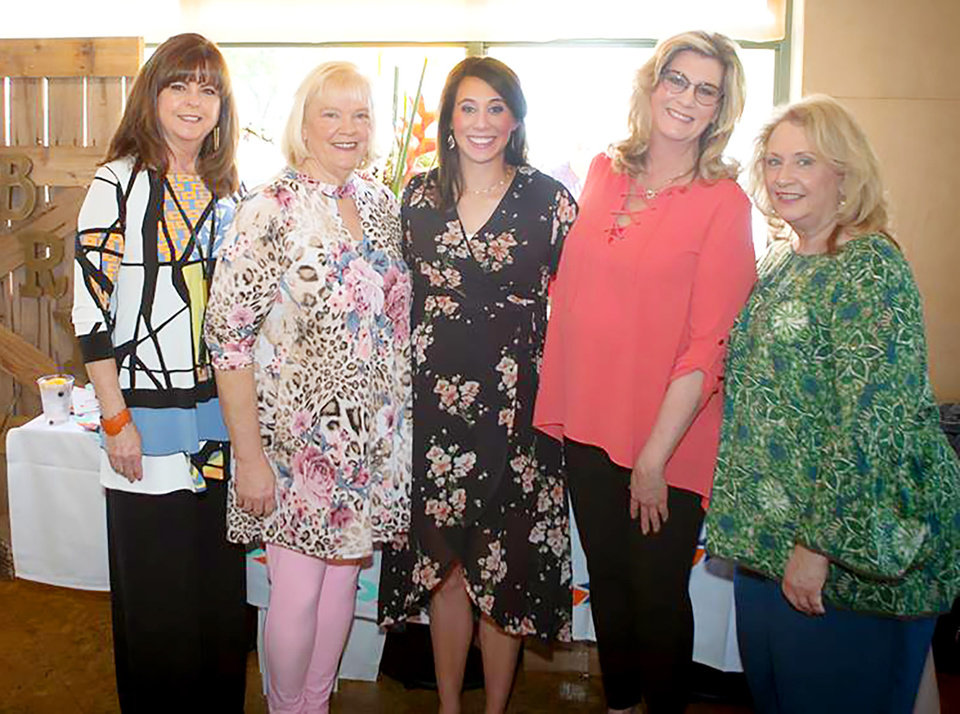 Photo - Rhonda Hooper, Kim Stubbs, Erika Yost, Helen Southerland, Vickie Baker. PHOTO PROVIDED
