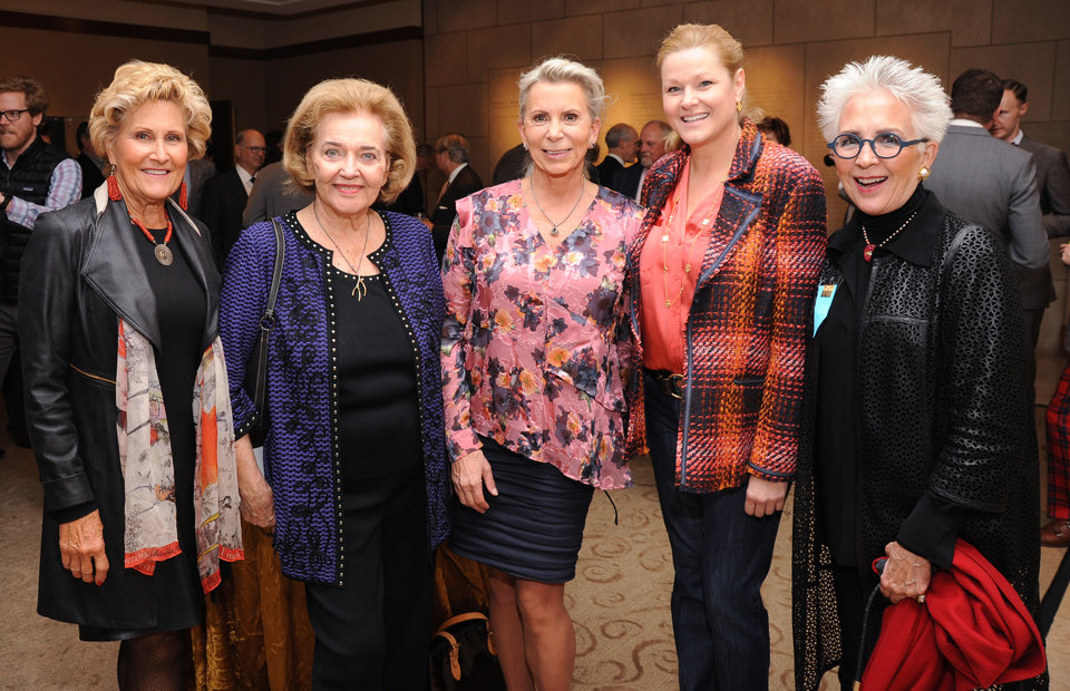 Photo - Judy Hatfield, Lou Kerr, Katie Robertson, Dawn Bogart, Lolly Anderson. PHOTO PROVIDED
