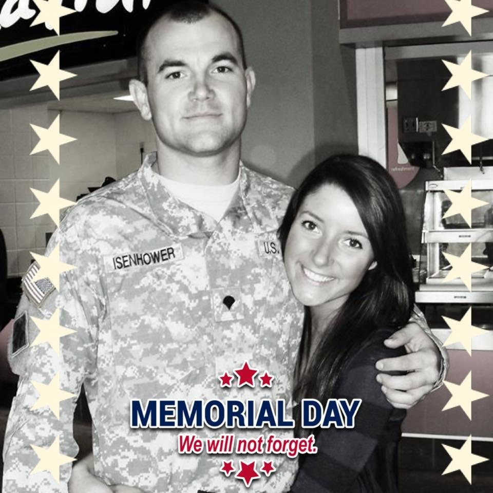 Photo -  Krysten Isenhower is pictured with her late brother, Army Sgt. Bret D. Isenhower. [PHOTO PROVIDED]