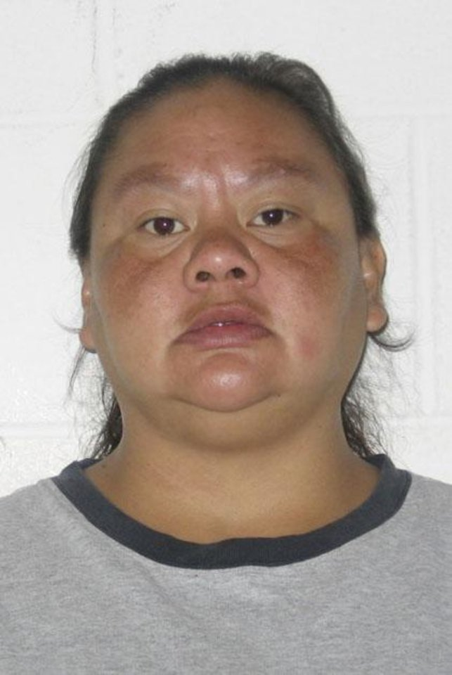 Photo - PAULETTA SAMIS, ARREST: Pauletta Faye Samis. DOB 7-12-1971, arrested for animal cruelty. Photo provided by Pontotoc County Sheriff. ORG XMIT: KOD