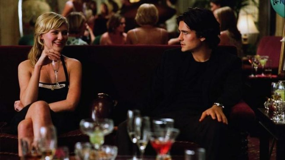 Photo -  Kirsten Dunst and Orlando Bloom appear in