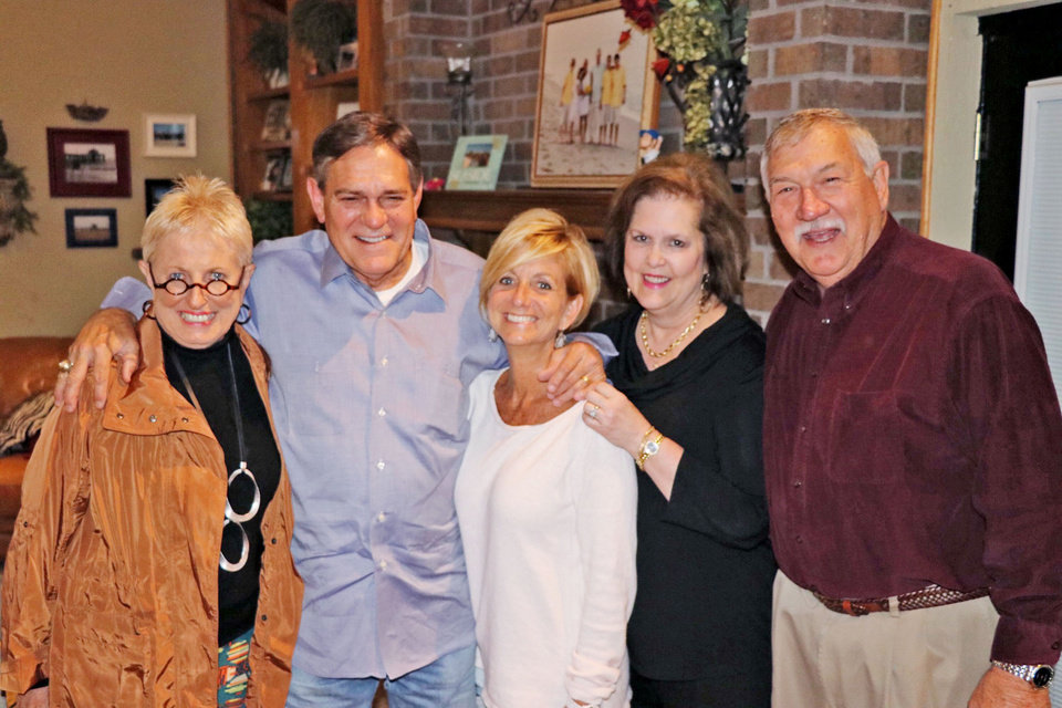 Photo - Judi Freyer, Gary Tucker, Stacey Maxon, Joy Tucker, Mason Mungle. PHOTO PROVIDED