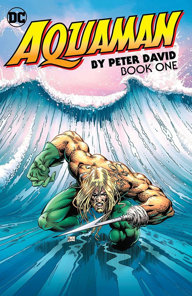 Photo -  Writer Peter David revamped Aquaman starting in 1994. [Photo provided by DC Comics]