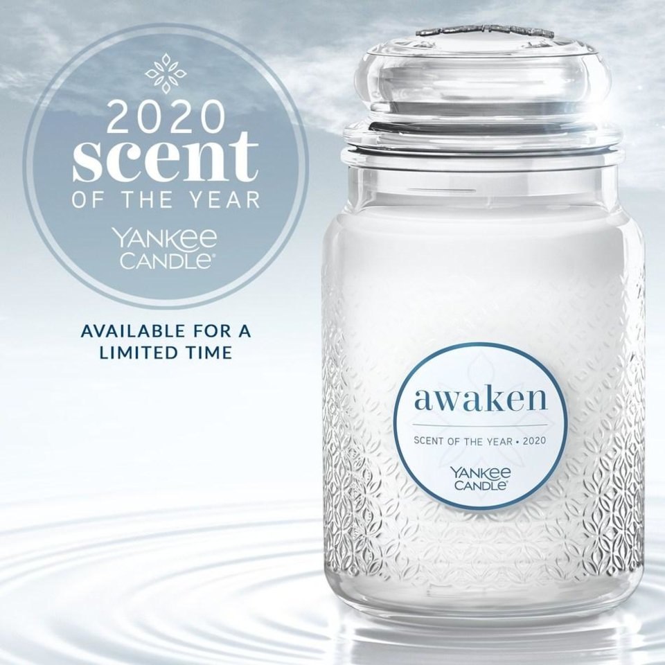 Photo - Yankee Candle has introduced Awaken, it's new scent of the year.