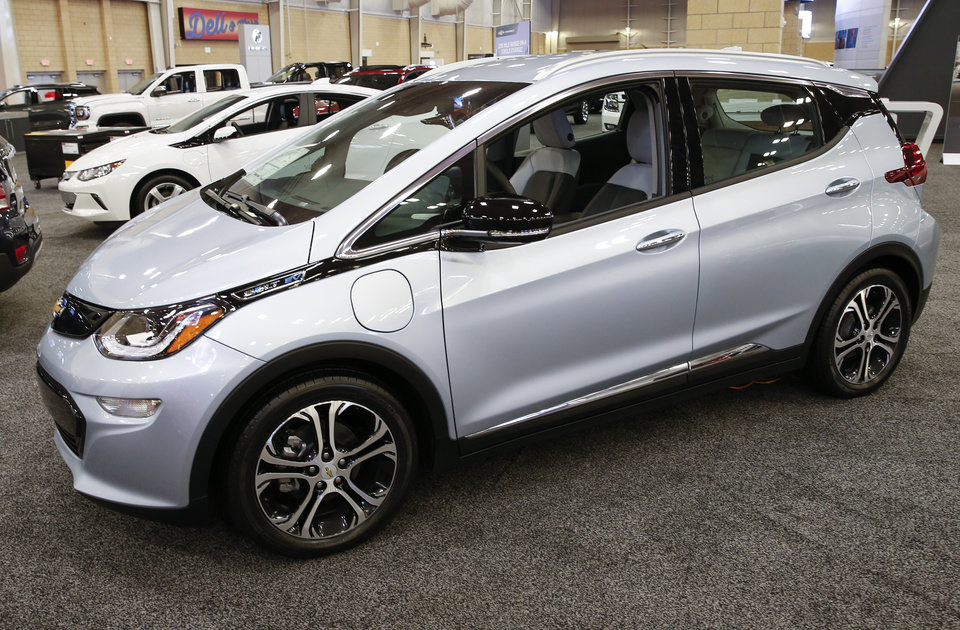 The Chevrolet Bolt Electric Vehicle Can Be Test Driven At This Year S Okc Auto Show Oklahoma State Fair Park Bennett Event Center