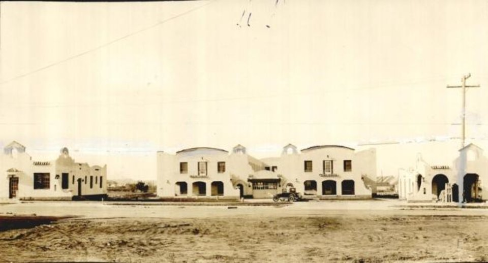 Photo -  This photograph taken in 1930 shows the Park-O-Tell Hotel. [Oklahoman Archives]