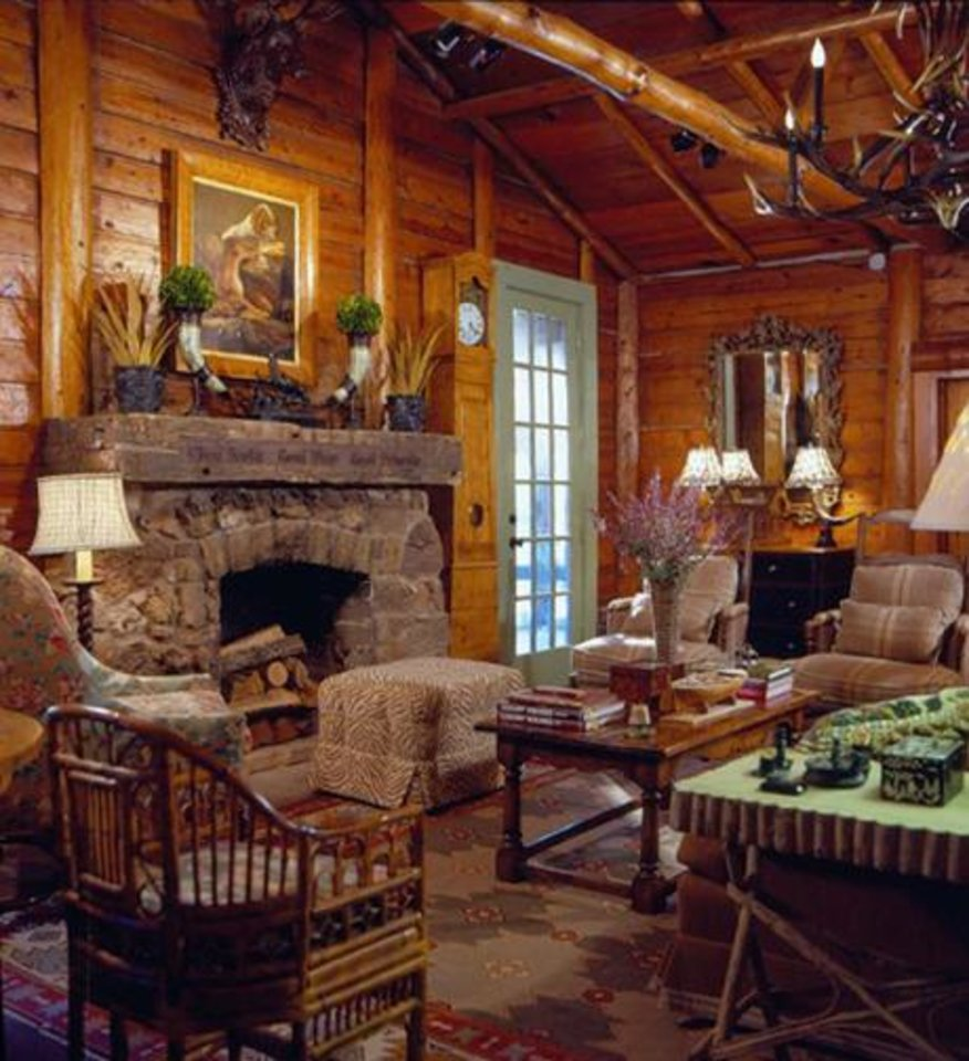 Charles Faudree S Country Cabin: Trendy Retreat
