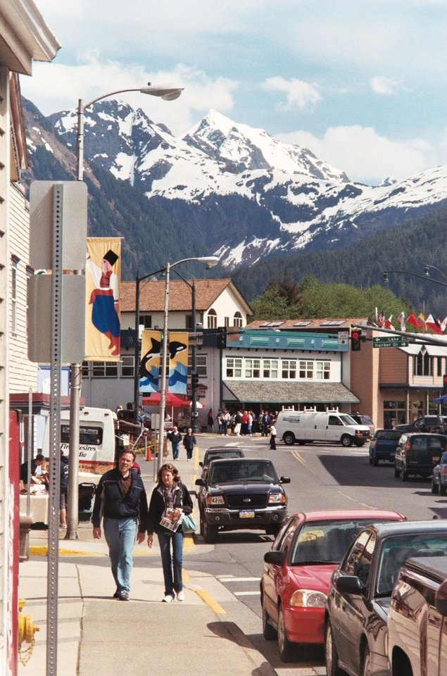 Photo - Sitka, Alaska, was once the capital of all Russian America and referred to by the colonial Russians as
