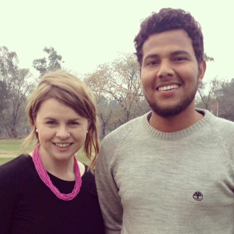 I Met The Indian Blake Griffin While Attempting To Learn To Play Cricket
