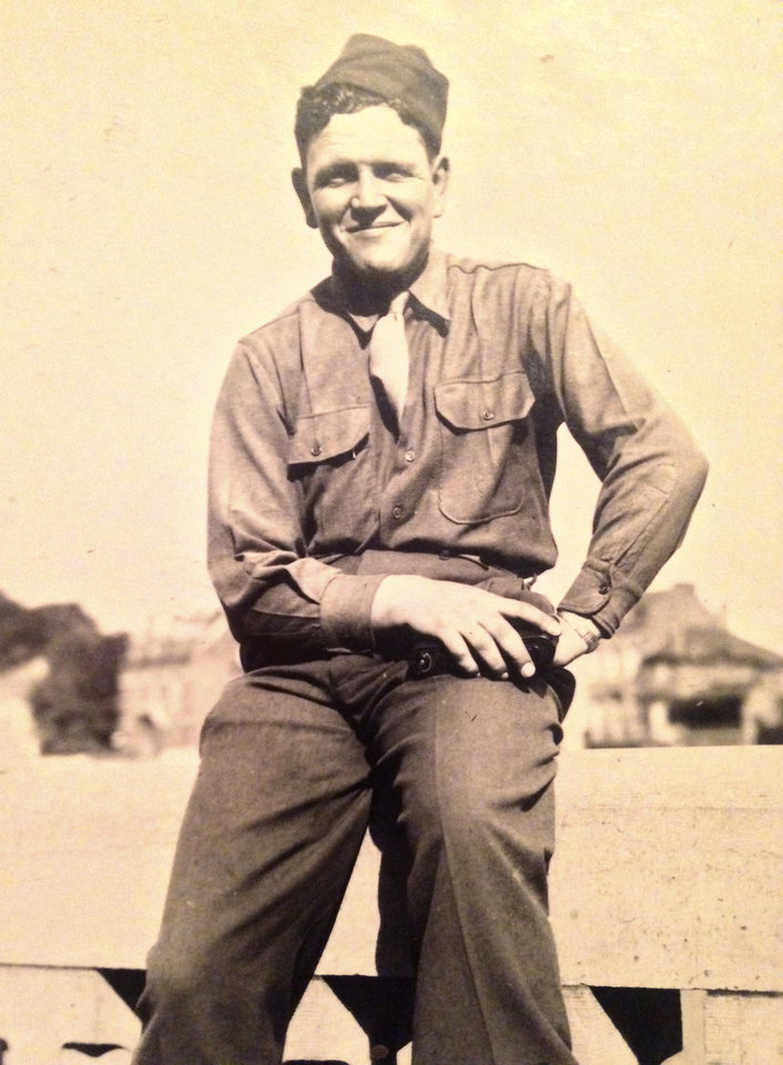Photo -  Charlie Stites served in the U.S. Army during World War II. [Photo provided]
