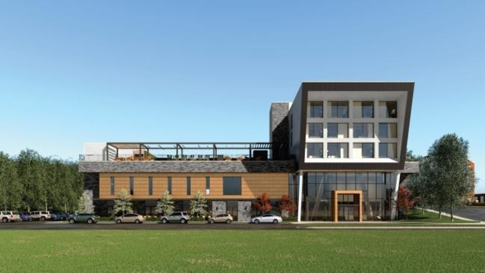 Photo -  Construction of The Ellison Hotel, named after the internationally acclaimed author Ralph Ellison, is set to start this winter at Classen Curve. [PROVIDED]
