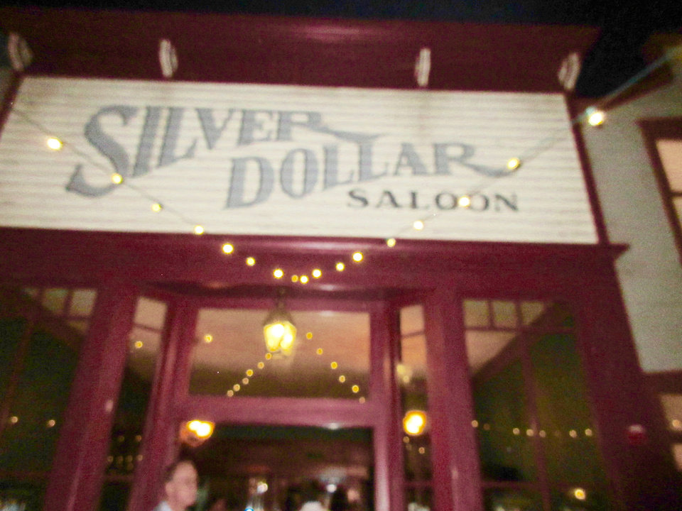 Photo - Silver Dollar Saloon. PHOTO BY HELEN FORD WALLACE, THE OKLAHOMAN