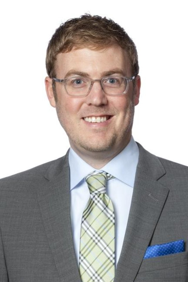 Photo -  Rich Johnson is a business attorney with McAfee & Taft.
