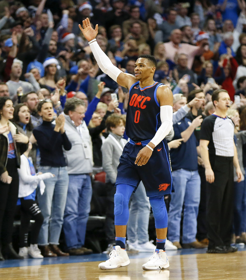NBA puts OKC on the road for opening night, Christmas