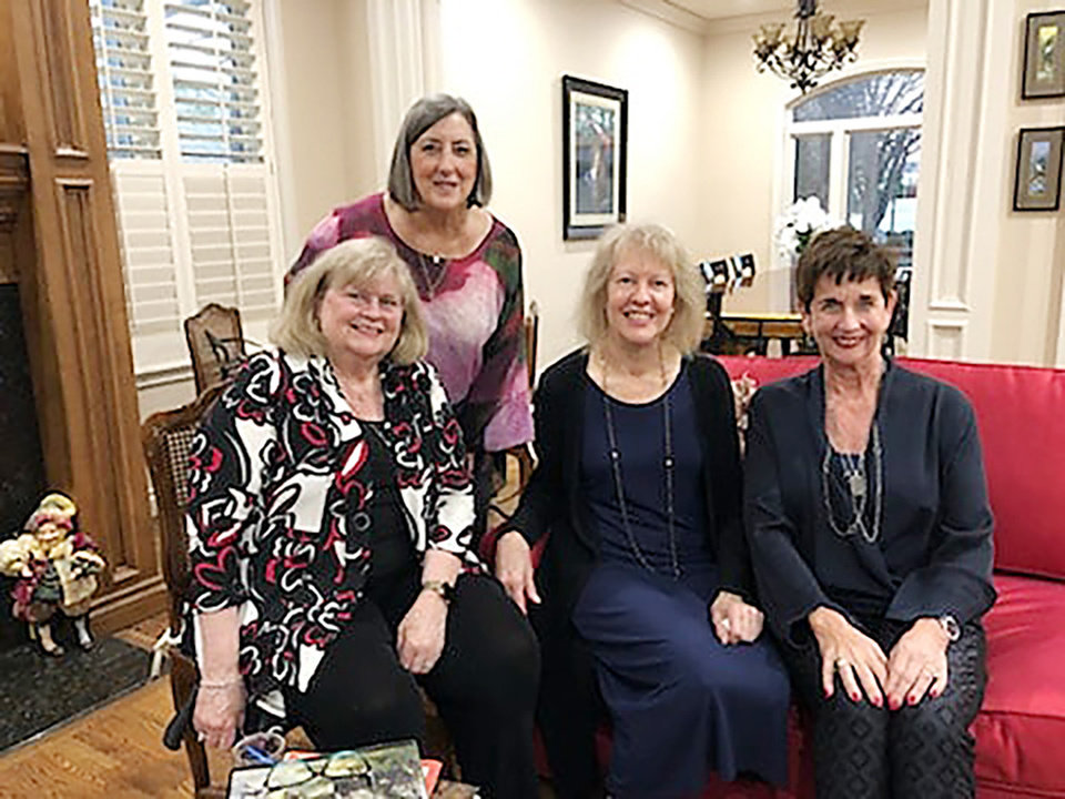 Photo - Dixie Jensen, Judy Austin, Sarah Sagran and Glenna Tanenbaum. PHOTO PROVIDED