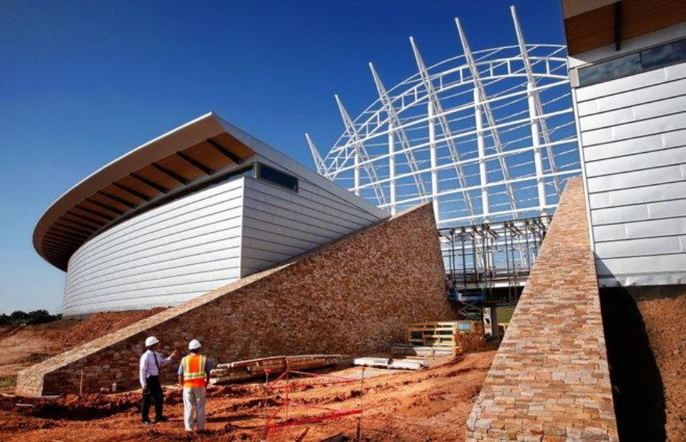 Construction halts on American Indian Cultural Center in ...
