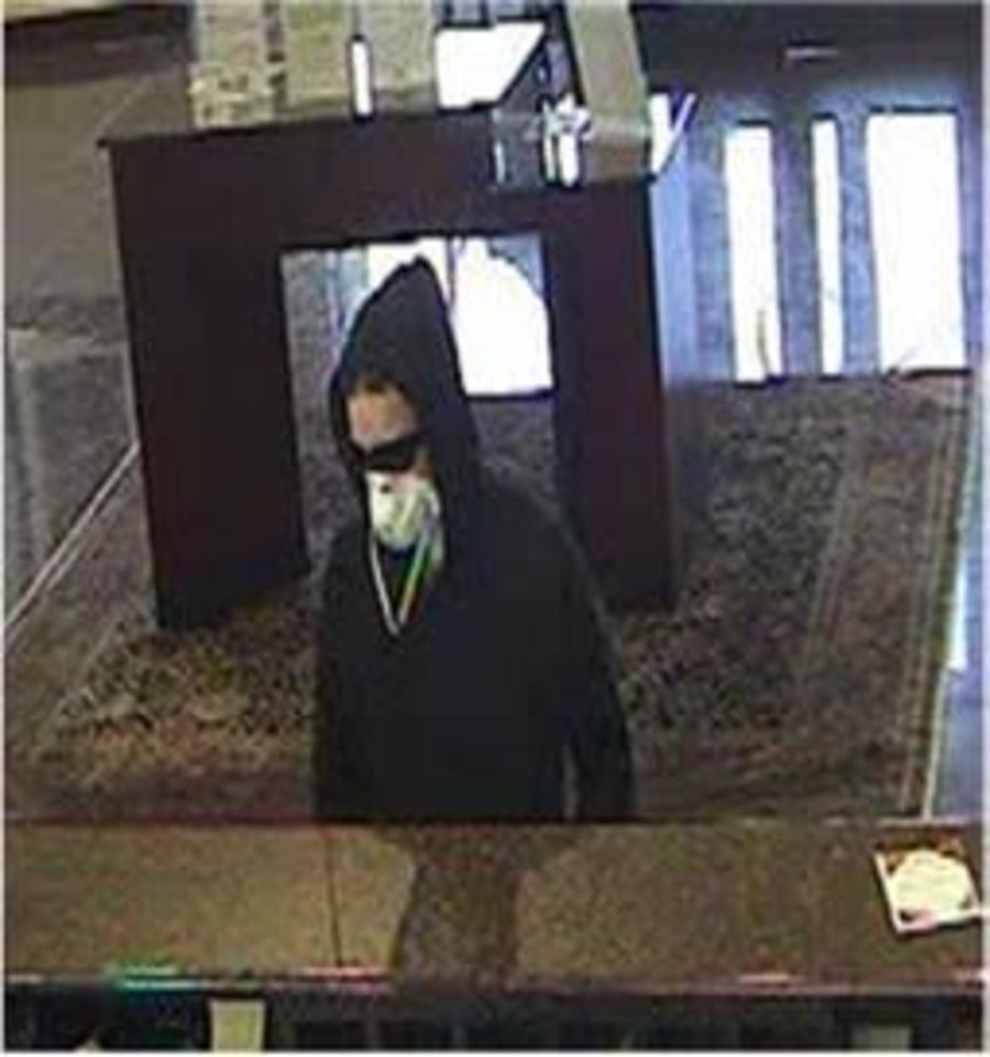 "Photo -  The FBI is searching for a woman they've dubbed the ""Sweatpant Bandit."" The woman is accused of robbing five Oklahoma City metro banks. [Photo provided by the FBI]"