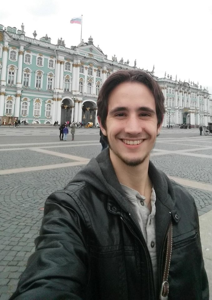 Photo -  University of Oklahoma student Jonathan Walls has been studying in Russia for the entire 2017-18 school year. He's currently majoring in three languages at OU. [Photo Provided]