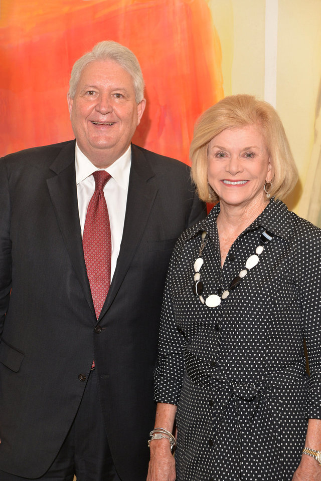 Photo -  United Way of Central Oklahoma Campaign Co-Chairs Mike Turpin and Judy Love. [Photo provided]