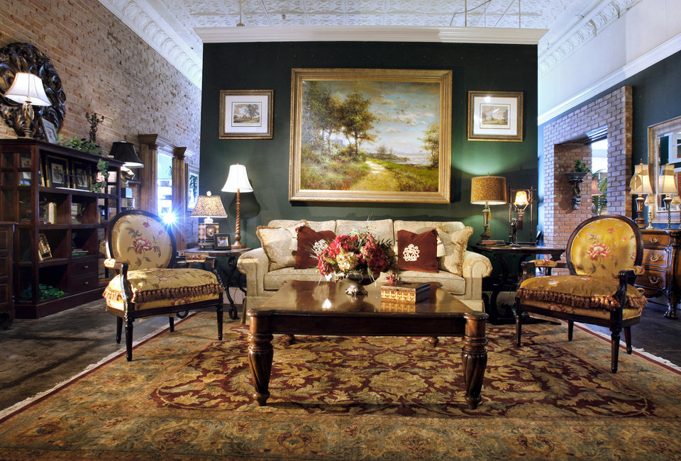 Mister Robert Furniture Celebrated Its 50th Anniversary In Norman, Oklahoma  On July 22. Photo
