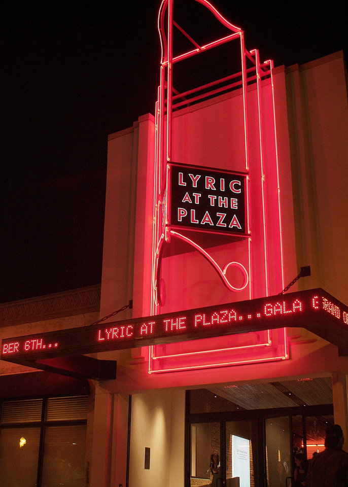 Photo - In September, Lyric Theatre productions move to the Plaza Theatre.