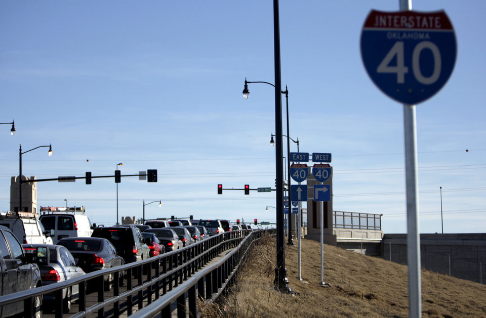 Amid switch to new Crosstown, downtown Oklahoma City traffic