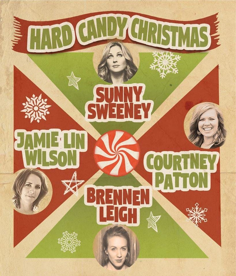 Photo - Hard Candy Christmas tour poster. [Image provided]