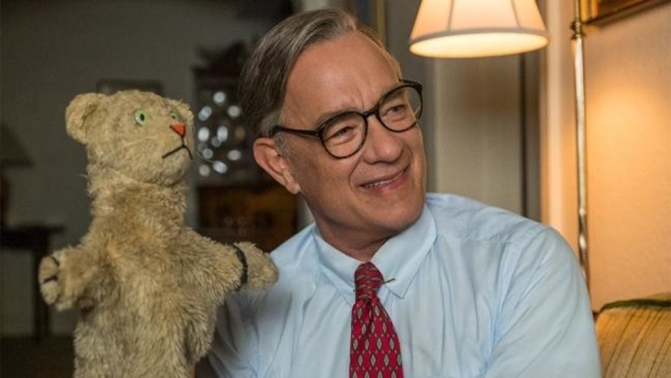 Photo -  Tom Hanks plays Fred Rogers in