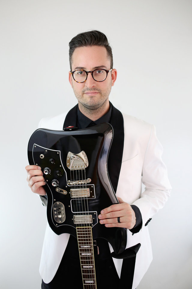 Photo -  Matt Stansberry & The Romance is fronted by Edmond-based musician Matt Stansberry. The Okie songwriter also runs a design firm that's worked with The Strokes, Radiohead, Boyz II Men and more. [Photo provided]