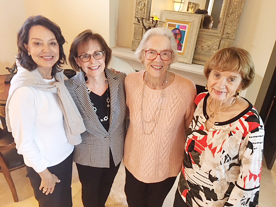 Photo - Cathy Keating, Nancy Coats-Ashley, Joan Gilmore, Kay Goebel. PHOTO PROVIDED