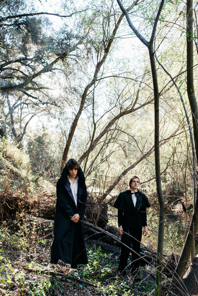 Photo -  From left, Foxygen is Jonathan Rado and Sam France. The Los Angeles pair met in high school and have been working on music together for several years. [Photo provided by Cara Robbins]