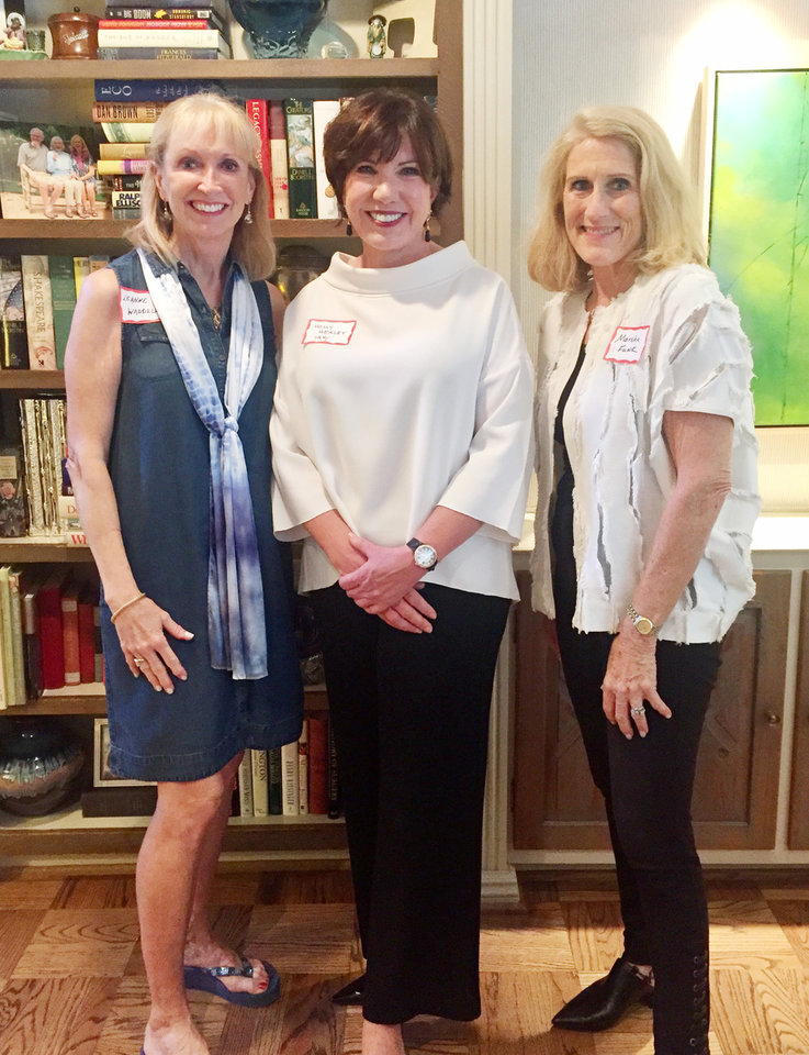 Photo - Leanne Waddell, Holly Healey, Marsha Funk. PHOTO BY MARY PRICE
