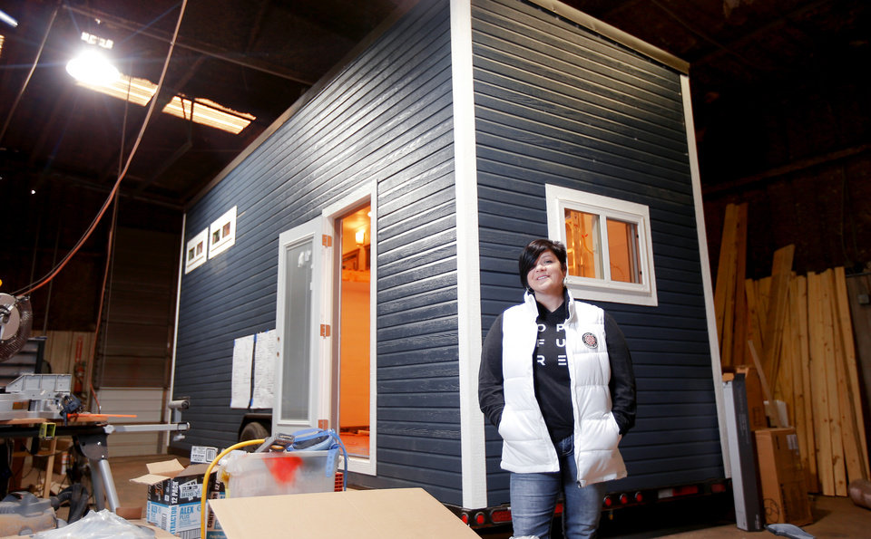 Tiny houses Big movement at Oklahoma City Home and Garden Show