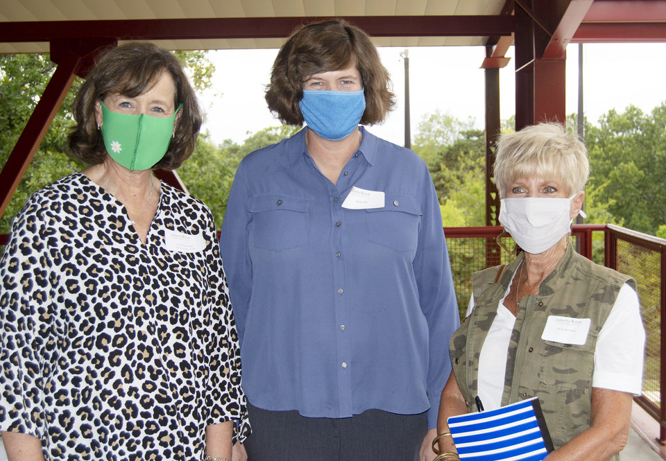 Photo - Patty Brumbaugh, Suzy Lytle, Anne McCarthy. PHOTO PROVIDED