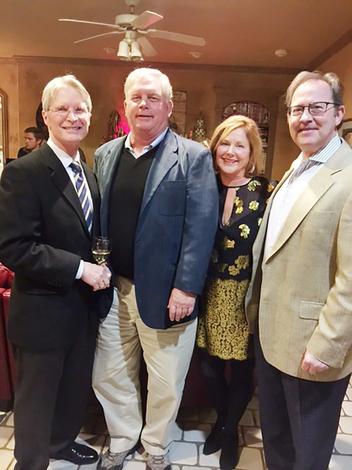 Photo - Mike Shelby, Steve Wetwiska, Becky Wetwiska, Gary Dempsey. PHOTO PROVIDED