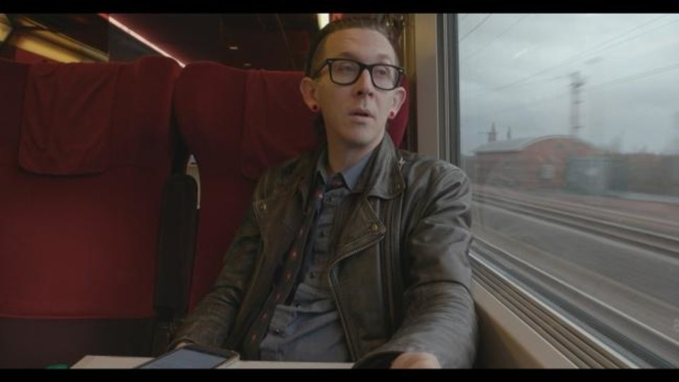 Photo -  Micah P. Henson is featured in Sterlin Harjo's documentary