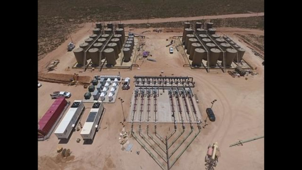 Photo -  NGL Energy Partners' Salty Dog disposal facility in Andrews County, Texas, is pictured.