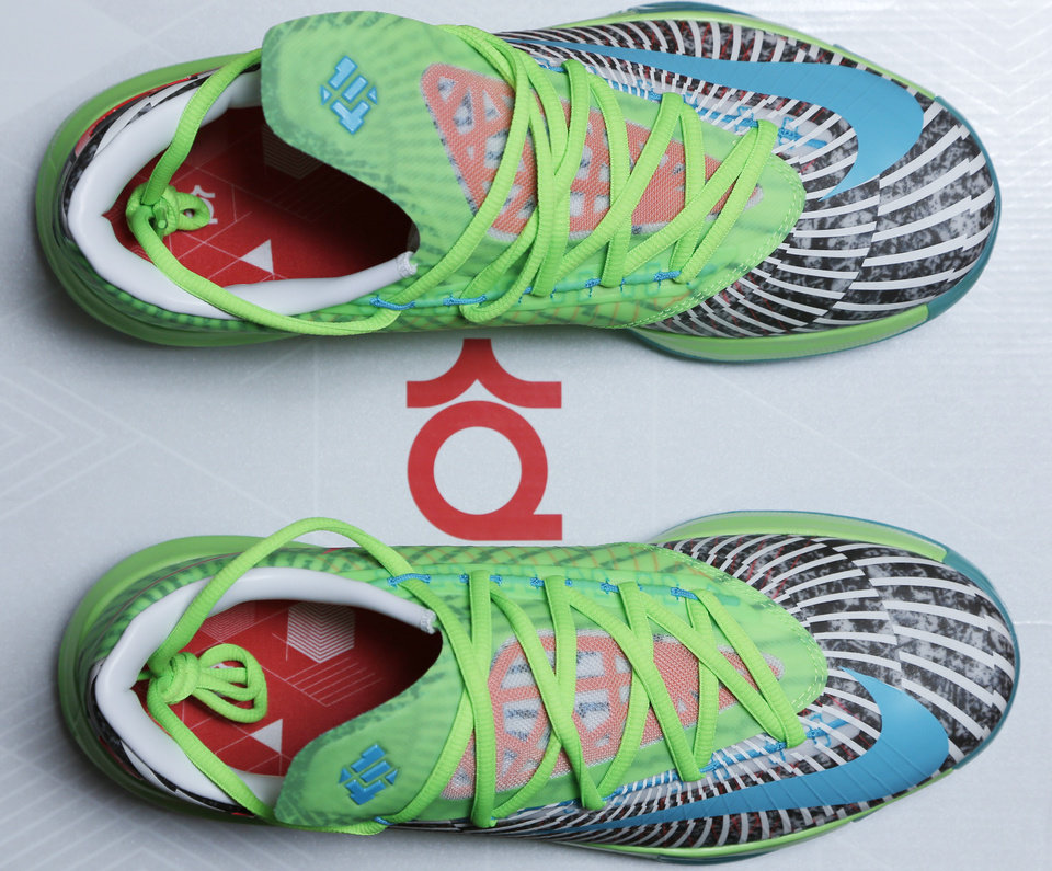 reputable site f78e4 c642d ... Photo - Christopher McCord and his complete collection of Nike KD 6  shoes Sunday, August