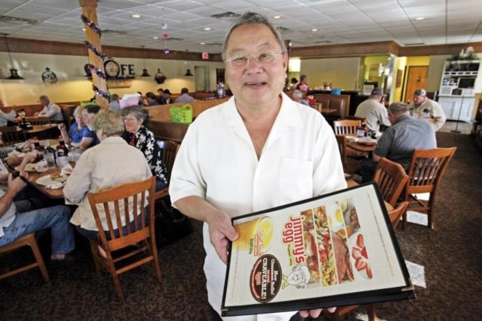 Photo -  Loc Le, who purchased on Jimmy's Egg restaurant in 1980 and turned it into a multistate chain passed away on Thursday. [Oklahoman Archives]