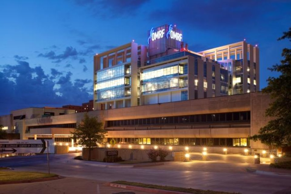 Photo -  To protect its employees from COVID-19, the Oklahoma Medical Research Foundation has drastically reduced the number of staff required to be onsite. [Photo Provided]