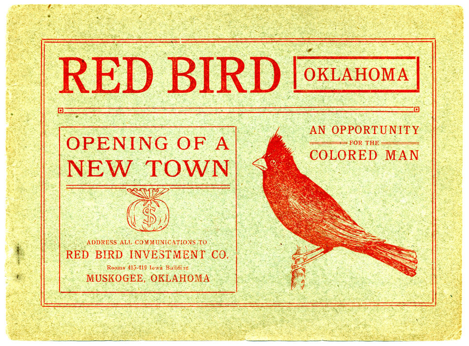 Photo - EARLY BLACK SETTLEMENTS: Pamphlets touting Oklahoma as a good place for blacks to move and live. Photo provided. ORG XMIT: KOD