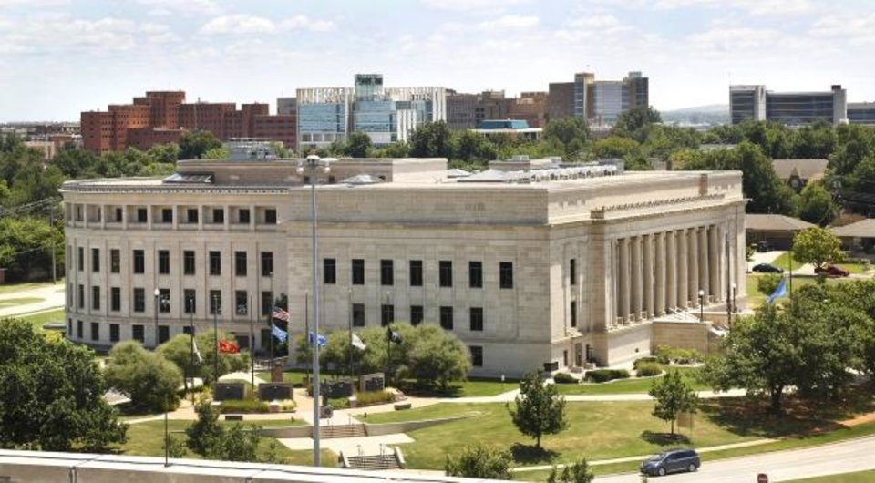 Photo -  The Oklahoma Judicial Center is the headquarters of the Oklahoma Supreme Court, the Oklahoma Court of Criminal Appeals, and the Judiciary of Oklahoma. [The Oklahoman Archives]