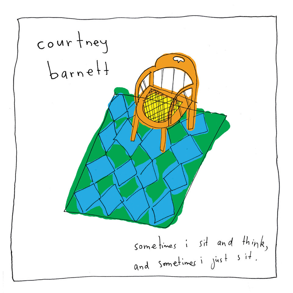 "Photo - Pictured is the cover art for Courtney Barnett's debut record ""Sometimes I Sit and Think, And Sometimes I Just Sit."""
