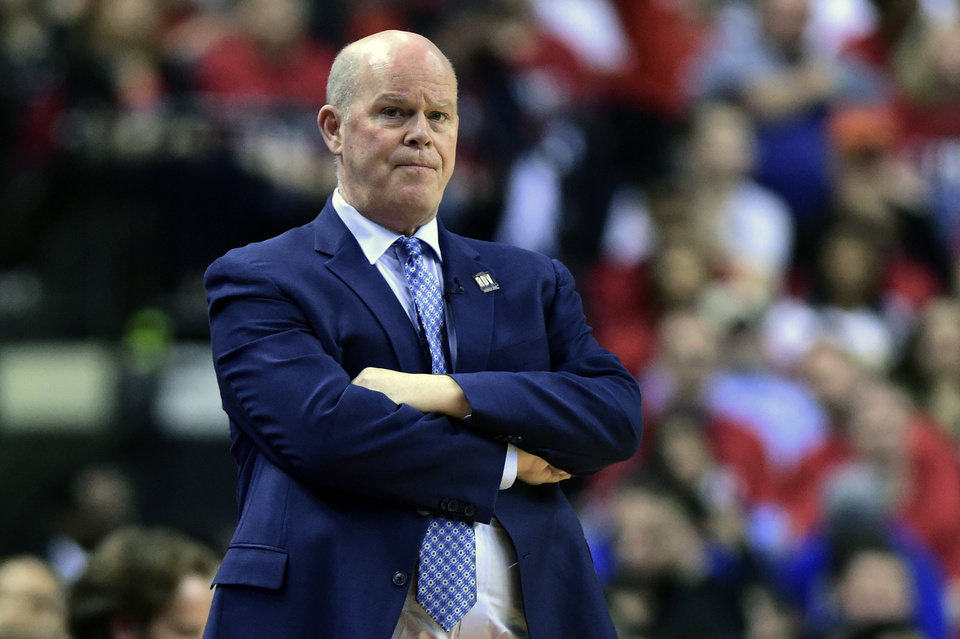 Photo -  Orlando Magic head coach Steve Clifford watches as his team plays Toronto Raptors during the second half in Game 5 of a first-round NBA basketball playoff series, Tuesday, April 23, 2019 in Toronto. (Frank Gunn/Canadian Press via AP)