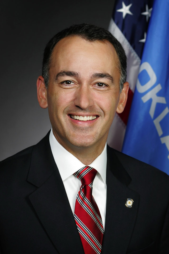 Photo -  State Rep. Randy McDaniel, R-Edmond