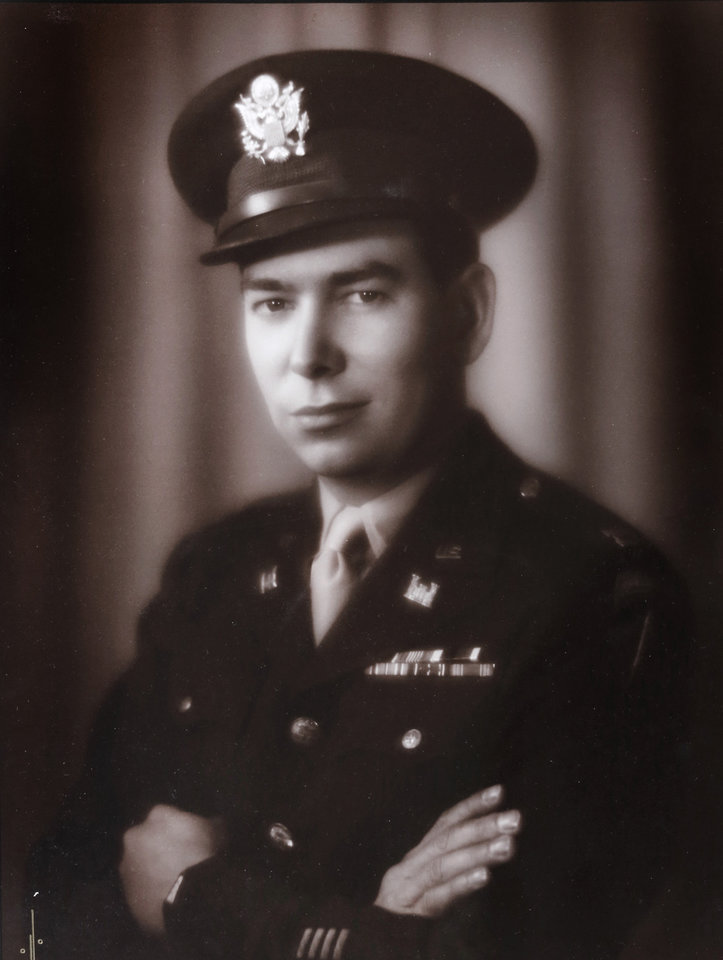 Photo -  Maud native Clyde Kenneth Harris was a Monuments Man during World War II and married a German princess. [Provided photo]